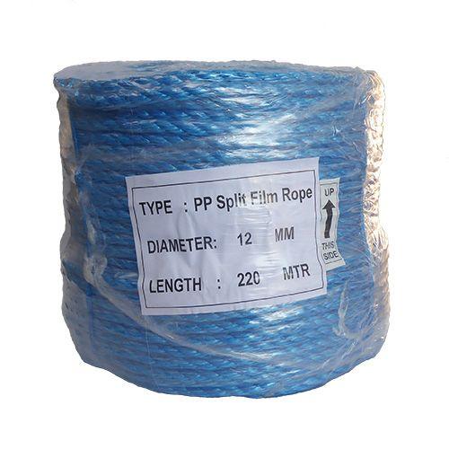 12mm Blue Polypropylene Rope - 220m coil