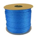 4mm Blue Polypropylene Rope - 220m reel