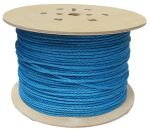 6mm Blue Polypropylene Rope on a 450m reel