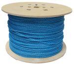 6mm Blue Polypropylene Rope on a 450m reel