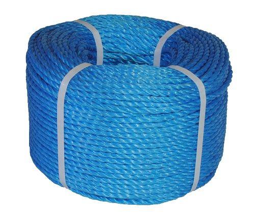 8mm Blue Polypropylene Rope - 220m coil