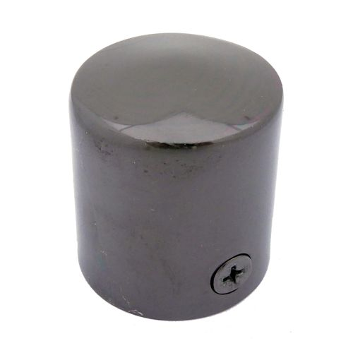 Black Nickel End Cap for 24mm Rope