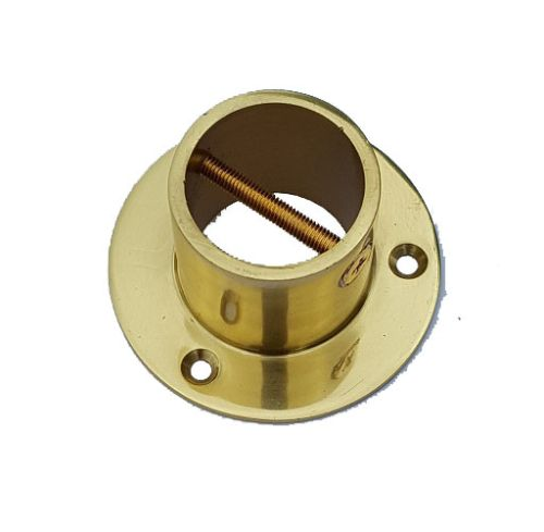 Solid Brass End Cup/Plate for 32mm Rope