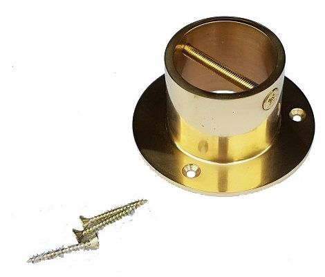 Solid Brass End Cup/Plate for 36mm Rope