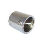 Glossy Chrome Cap End for 24mm Rope