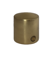 Polished Brass Cap End for 28mm Rope
