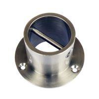 Satin Chrome End Plate/Cup for 36mm Rope