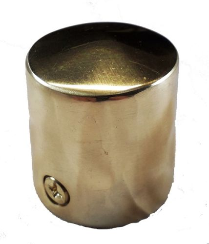 Polished Brass End Cap for 28mm Rope