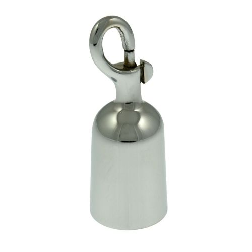 Glossy Chrome Trigger End Hook for 28mm rope