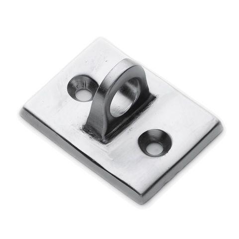 Glossy Chrome Eye Plate for Trigger Hooks