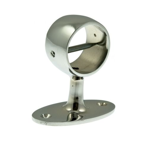 Glossy Chrome Centre Bracket for 36mm Rope