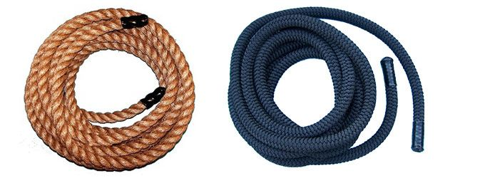 Battle Ropes For Sale >> Tough Strong Manila Polyester Battle Ropes Ropes Direct