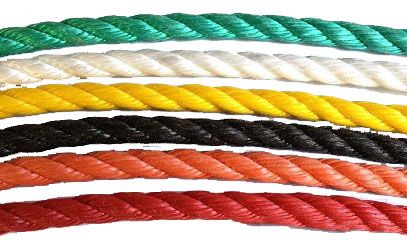 Coloured Polypropylene Rope