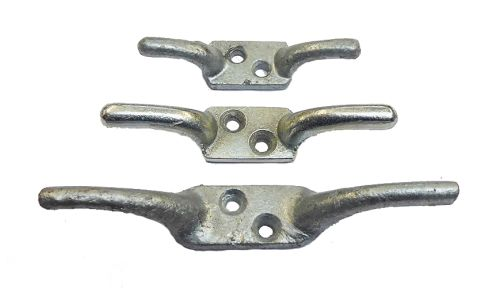 "100mm (4"") BZP Electro-Galvanised Cleat Hook"