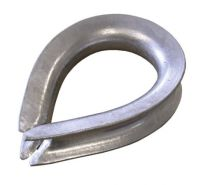 36mm Galvanised Rope Thimble