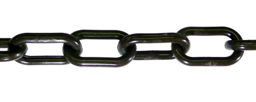 6mm Brown Plastic Chain - 25m bag
