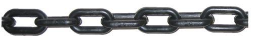 8mm Black Plastic Chain - 25m bag