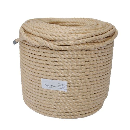12mm Beige Polypropylene Rope sold on a 220m coil