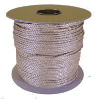 4mm Fawn Polypropylene Rope sold on a 220m reel
