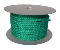6mm Green Polypropylene Rope sold on a 220m reel