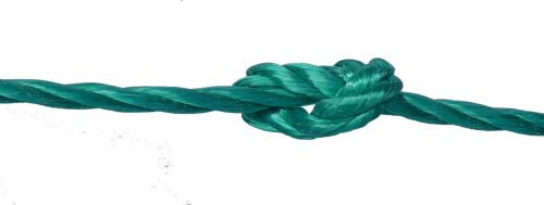 6mm Green Polypropylene Rope sold by the metre
