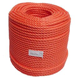 Orange Polypropylene Rope