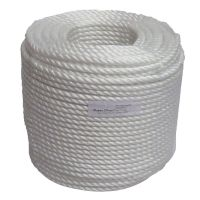 16mm White Polypropylene rope - 220m coil
