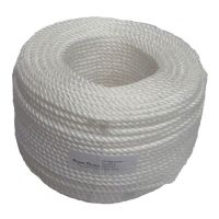 6mm White Rope sold by the 220m coil