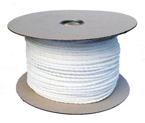 6mm White Polypropylene Rope sold on a 220m reel