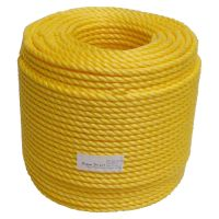 10mm Yellow Polypropylene Rope sold by the 220m coil