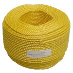 6mm Yellow Polypropylene Rope - 220m coil
