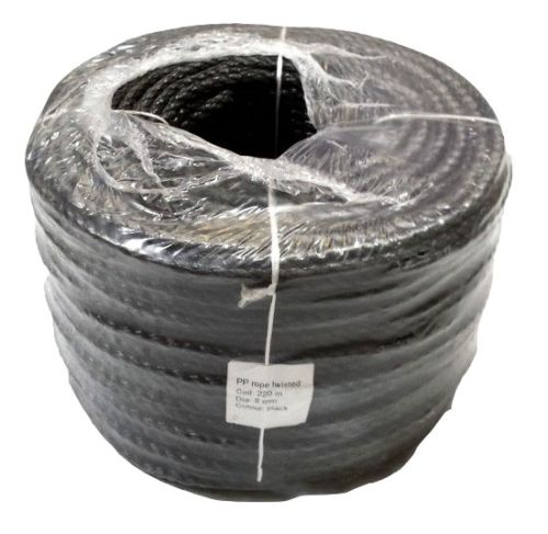 16mm Black Rope sold on a 220m coil