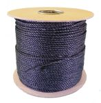 4mm Black Polypropylene Rope - 220m reel