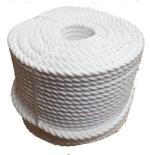 20mm 220m White Polypropylene Cricket Boundary Rope