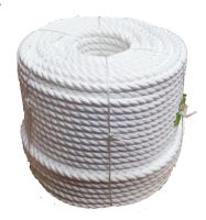 24mm 220m White Polypropylene Cricket Boundary Rope