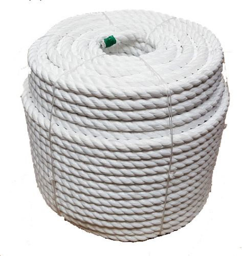 32mm 220m White Polypropylene Cricket Boundary Rope