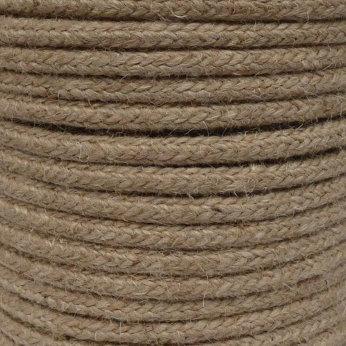 10mm Braided Jute Cord sold by the metre