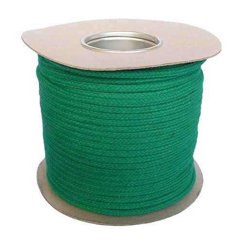 6mm Green Magician's Cord - 100m reel
