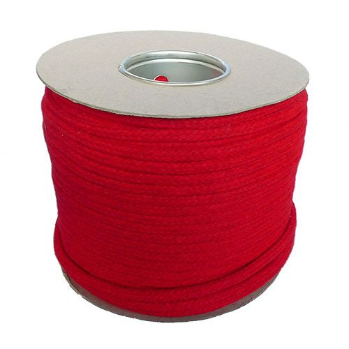 12mm Red Magician's Cord - 100m reel
