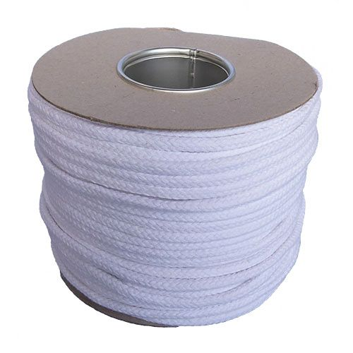 12mm White Magician's Cord - 100m reel