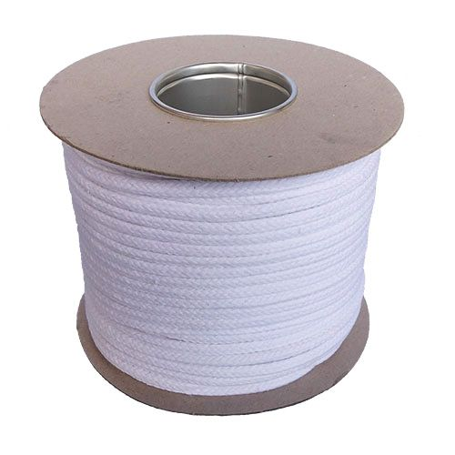 6mm White Magician's Cord - 100m reel