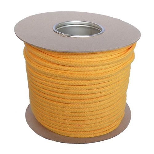 6mm Yellow Magician's Cord - 100m reel