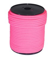 10mm Pink Braided Rope sold on a 100m reel