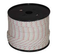 4mm x 100m Nylon Starter Cord - Red Fleck