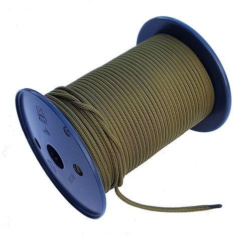 3.5mm x 100m Khaki Green Para Cord