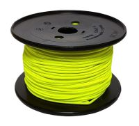 4mm Neon Yellow Shock Cord sold by the metre