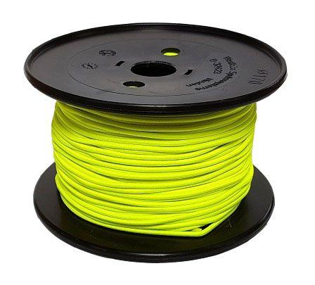 3mm Neon Yellow Shock Cord 100m reel