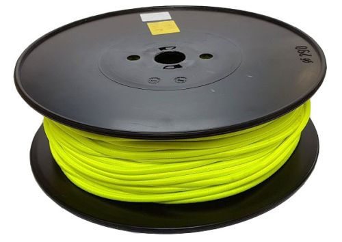 6mm Neon Yellow Shock Cord 100m reel