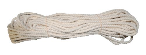 6mm Firm lay Cotton rope - 24m coil
