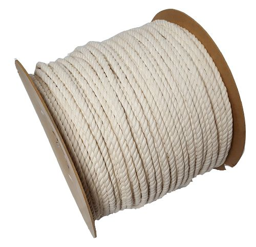 12mm Cotton Rope sold on a 50m reel
